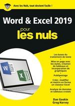 Vente Livre Numérique : Word et Excel pour les nuls (édition 2019)  - Greg HARVEY - Dan Gookin