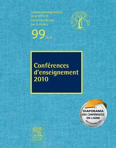 Conférences d'enseignement 2010