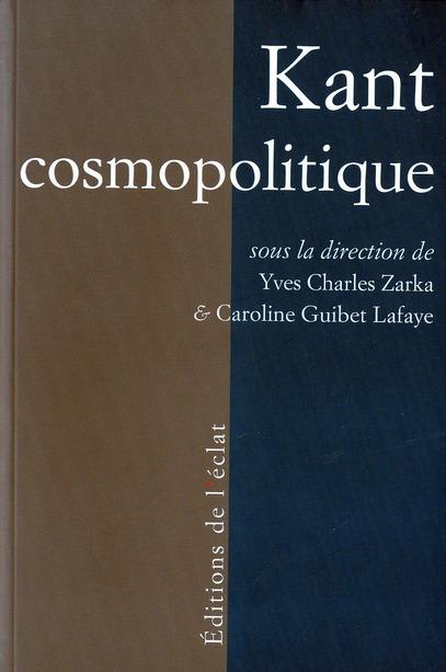 Kant cosmopolitique