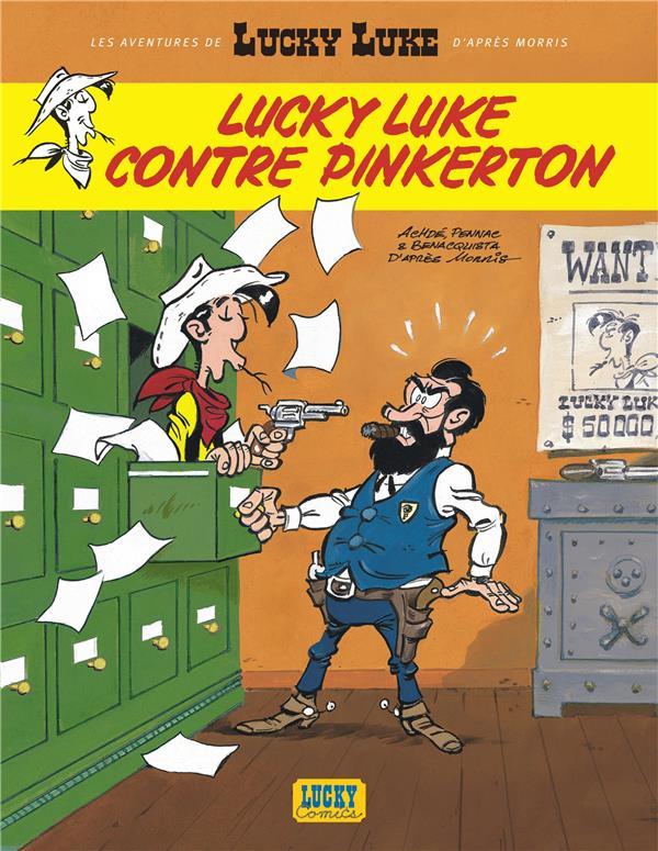 Les aventures de Lucky Luke d'après Morris T.4 ; Lucky Luke contre Pinkerton