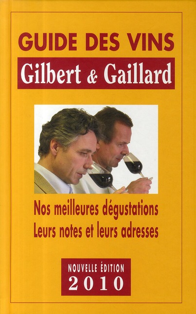Guide des vins Gilbert et Gaillard