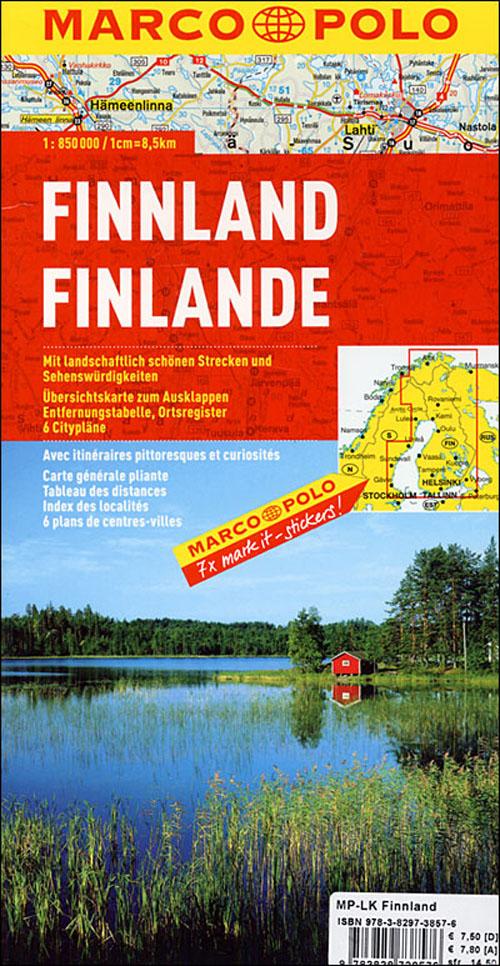 Finlande ; euro carte marco polo