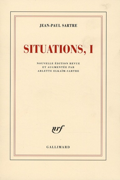Situations t.1