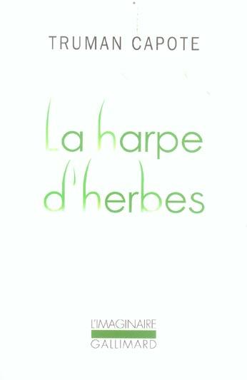 La harpe d'herbes