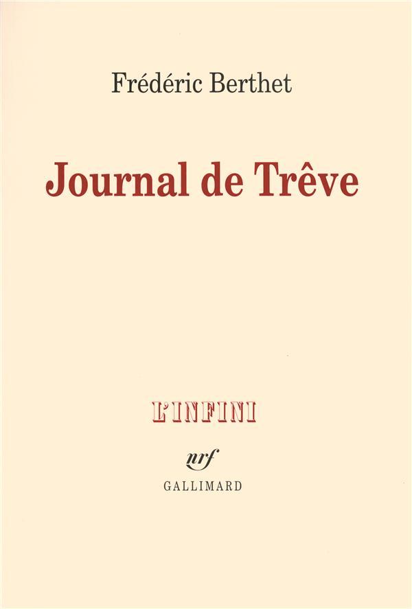 Journal de trêve