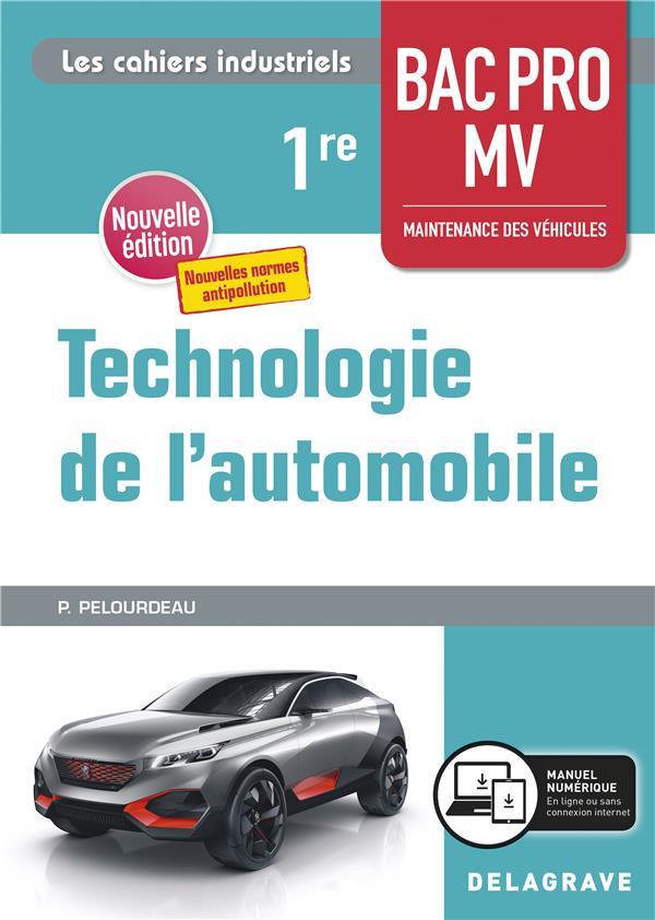 Technologie de l'automobile ; 1re bac pro MV ; pochette élève (édition 2020)