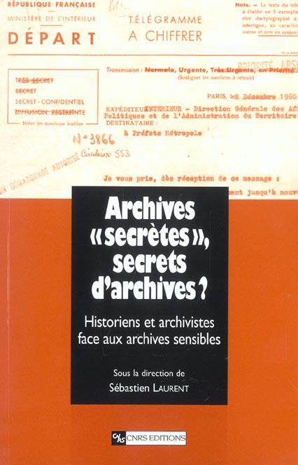 """Archives Secretes"""", Secrets D'Archives"""
