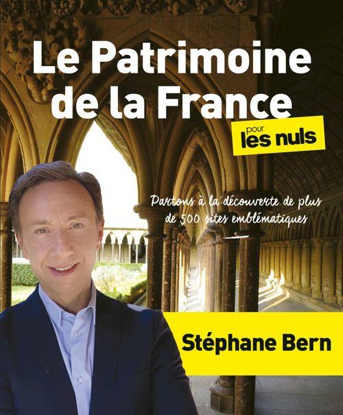 Le Patrimoine de la France pour les Nuls, grand format