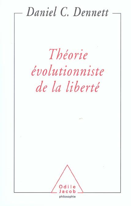 Theorie evolutionniste de la liberte