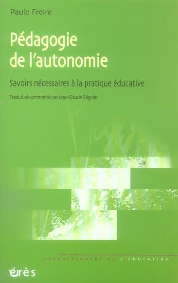 Pedagogie de l'autonomie