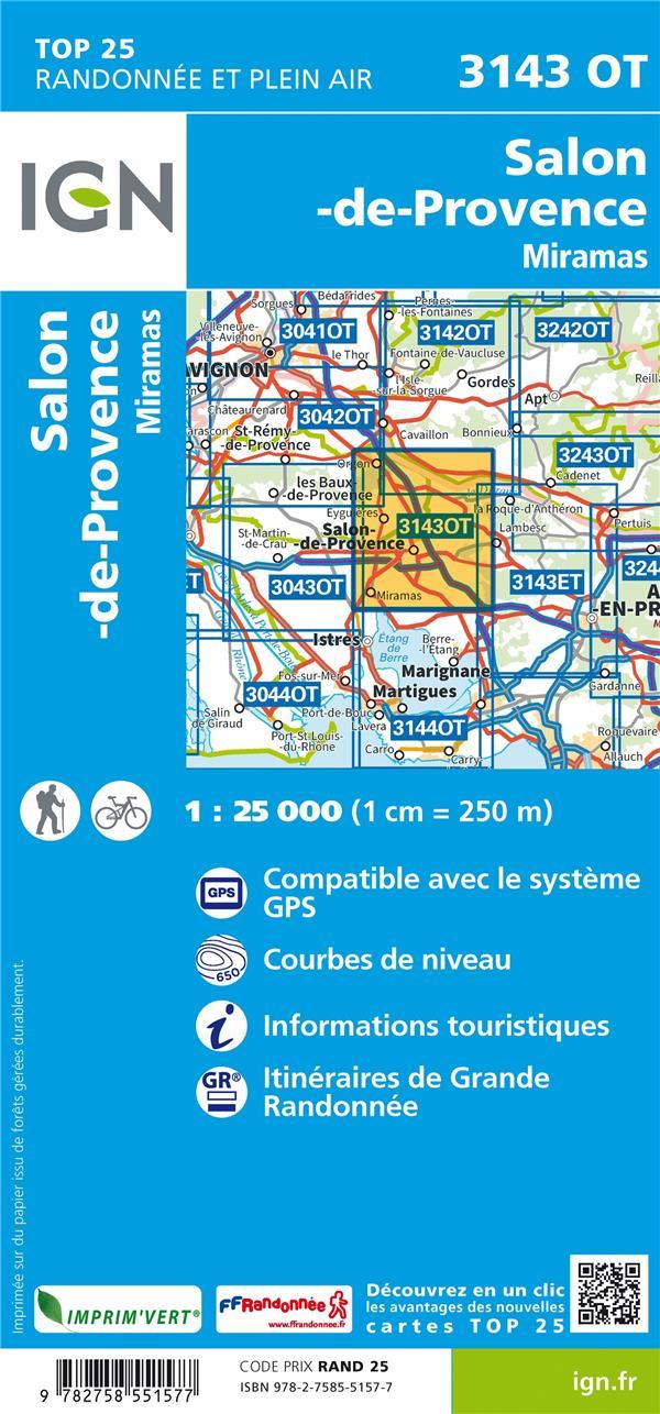 3143OT ; Salon-de-Provence (4e édition)