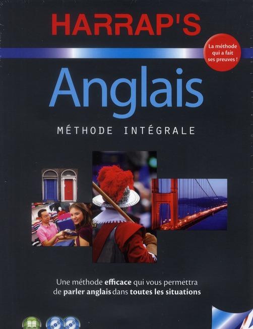 COLLECTIF - HARRAP'S METHODE INTEGRALE ANGLAIS 2CD+LIVRE