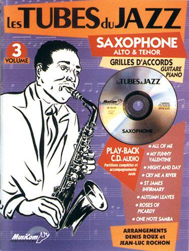 Tubes Du Jazz (Les) : Saxophone, Vol 3 + Cd
