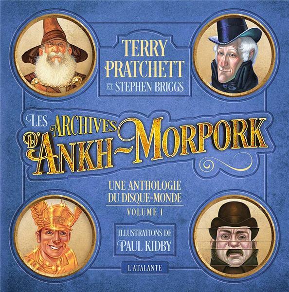 Une anthologie du Disque-monde t.1 ; les archives d'Ankh Morpork