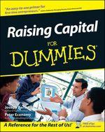 Raising Capital For Dummies  - Peter ECONOMY - Joseph W. Bartlett