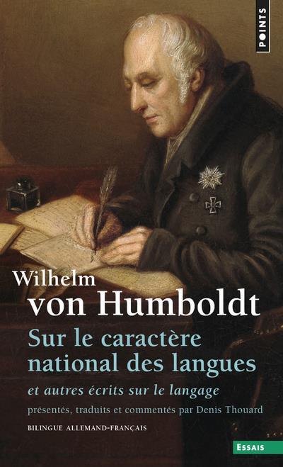 sur le caractère national des langues ; et autres écrits sur le langage