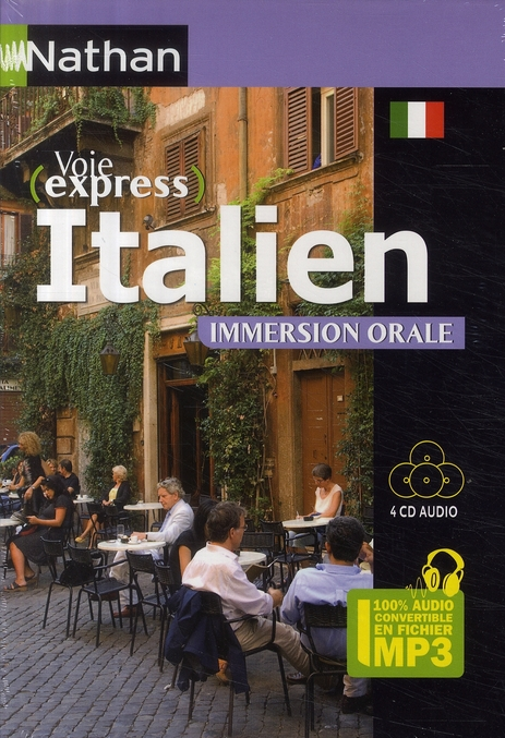Pack 3 cd ; italien ; immersion orale (édition 2009)