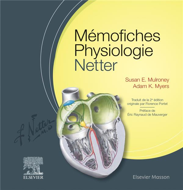 Mémo-fiches ; physiologie Netter