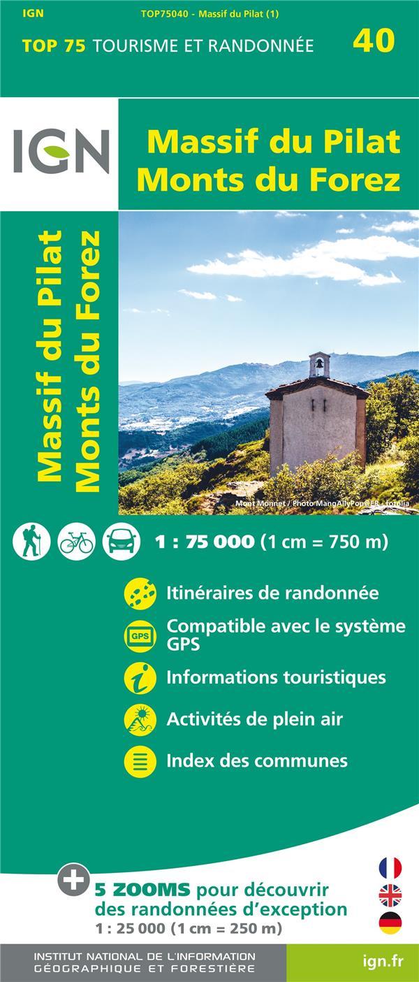 TOP75040 ; Massif du Pilat, Monts du Forez