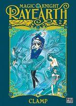 Vente Livre Numérique : Magic Knight Rayearth T02  - CLAMP