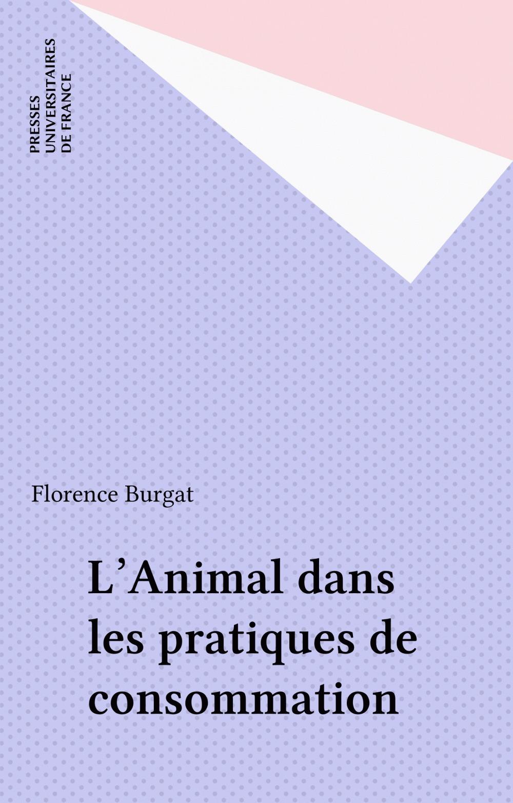 L'animal dans les pratiques de consommation