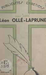 Léon Ollé-Laprune  - Albert Autin