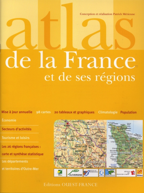 Atlas De La France Et De Ses Regions