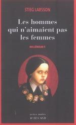Couverture de Millénium t.1 ; les hommes qui n'aimaient pas les femmes