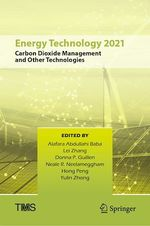 Energy Technology 2021  - . Collectif