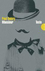 Vente Livre Numérique : Monsieur Teste  - Paul Valéry