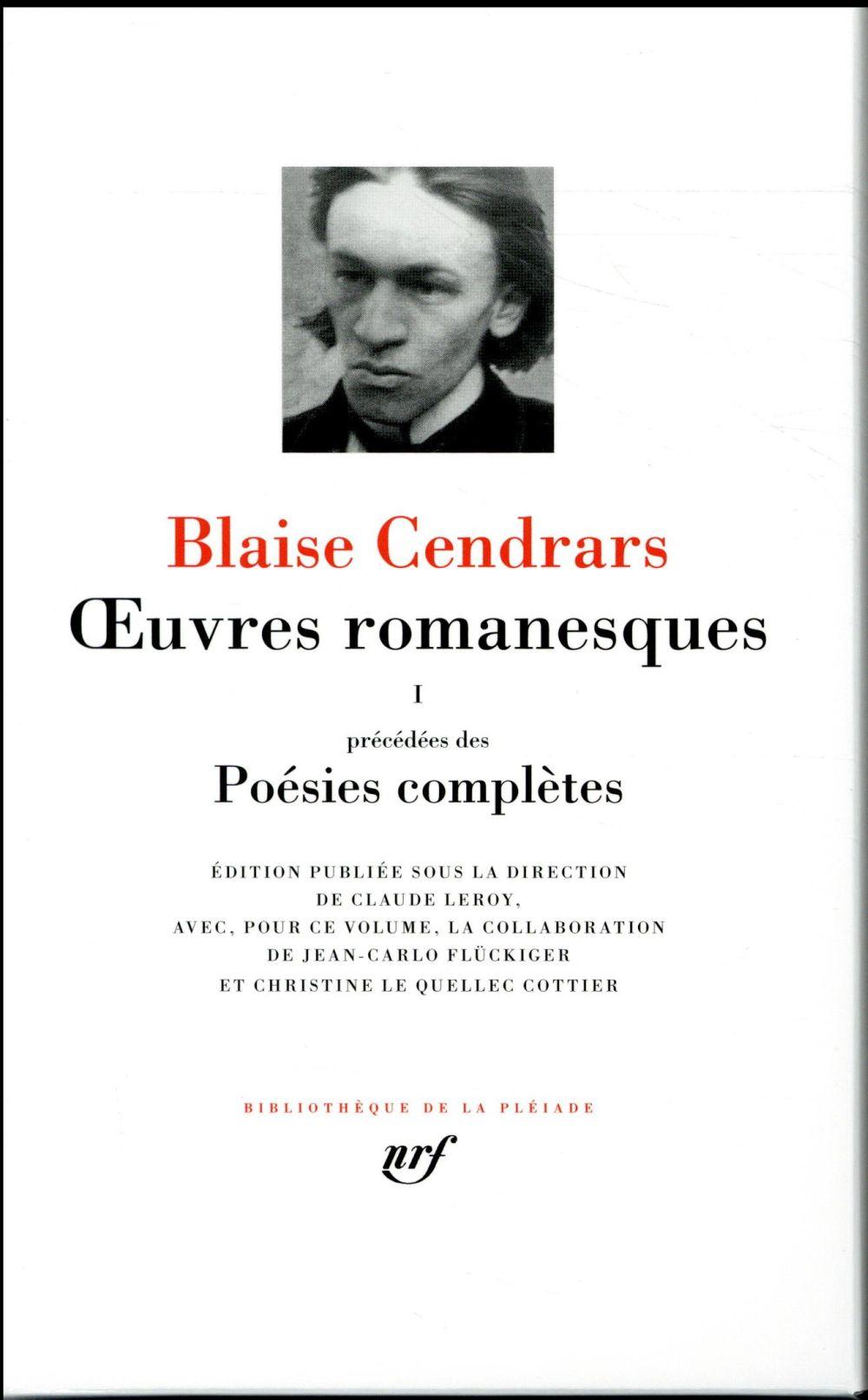 Oeuvres romanesques ; poésies complètes t.1