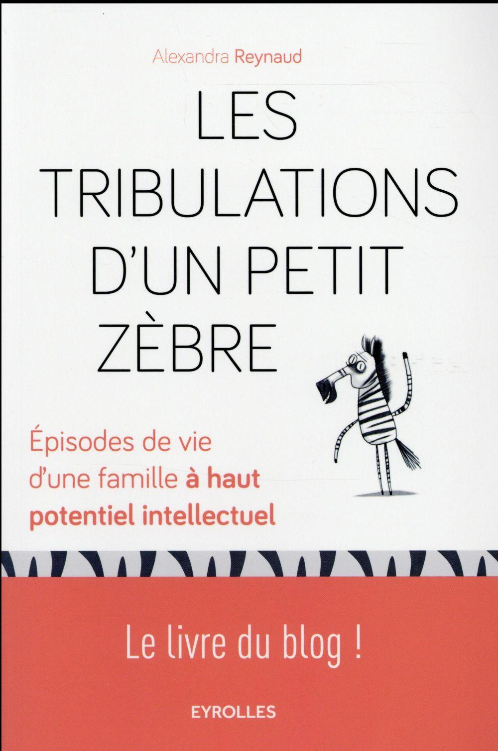 Les tribulations d'un petit zèbre ; épisodes de vie d'une famille à haut potentiel intellectuel ; le livre du blog !