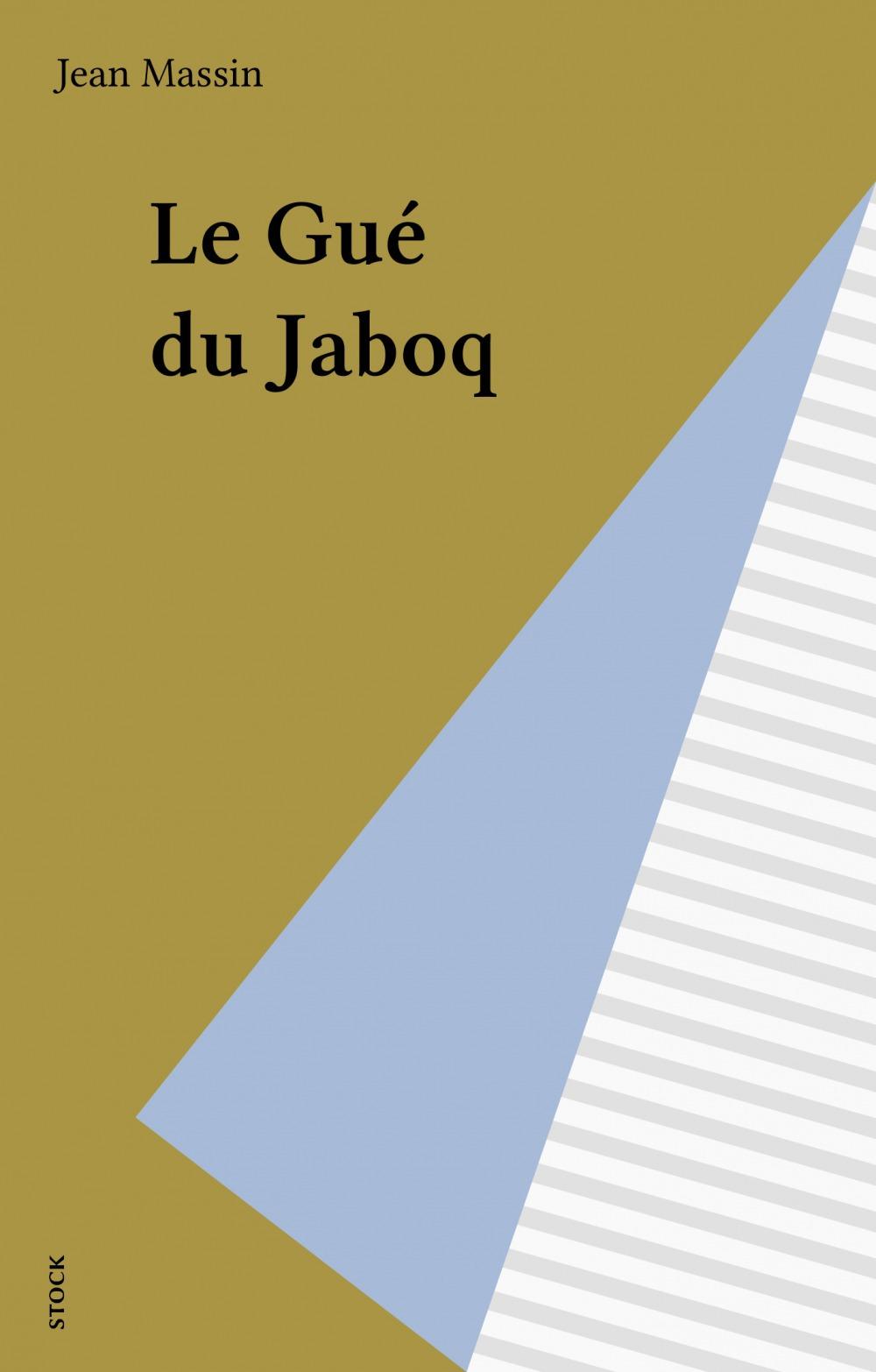 Le gue du jaboq