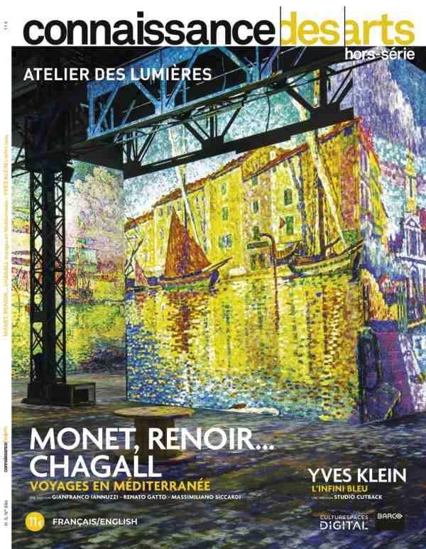 Connaissance des arts hors-serie ; monet, renoir... chagall ; voyages en mediterranee