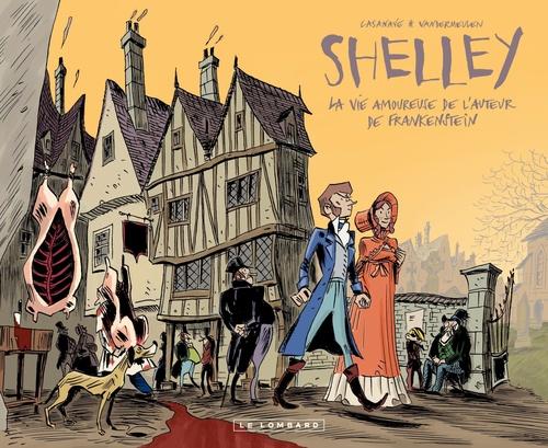 Romantica t.1 ; Percy & Mary Shelley ; la vie amoureuse de l'auteur de Frankenstein