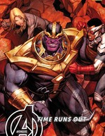 Vente Livre Numérique : Avengers Time Runs Out (2013) T03  - Stefano Caselli - Kev Walker - Jonathan Hickman - Mike Deodato Jr