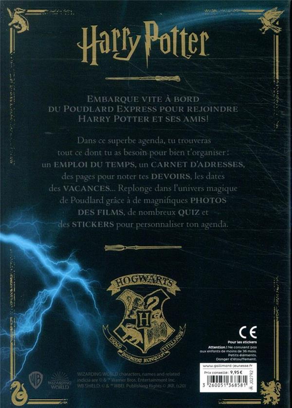 Agenda Harry Potter (édition 2020/2021)