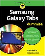 Vente Livre Numérique : Samsung Galaxy Tabs For Dummies  - Dan Gookin