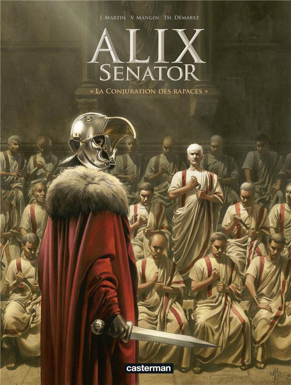 Alix Senator T.3 ; la conjuration des rapaces