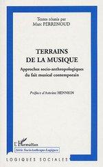 Vente Livre Numérique : Terrains de la musique  - Marc PERRENOUD - Marie BUSCATTO - Anthony Pecqueux - Emmanuel Brandl - Olivier - Anne Petiau - Morgan Jouvenet - Marie Baltazar