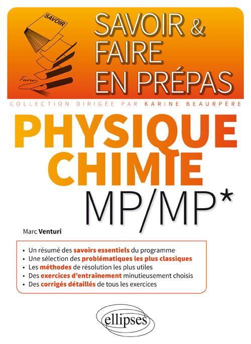 Venturi Marc - PHYSIQUE-CHIMIE MPMP*