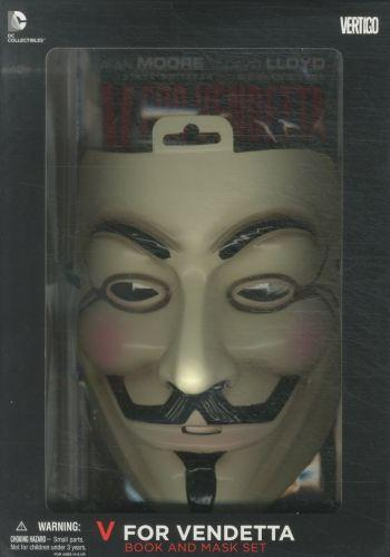 V FOR VENDETTA: DELUXE COLLECTOR SET - BOOK AND MASK SET