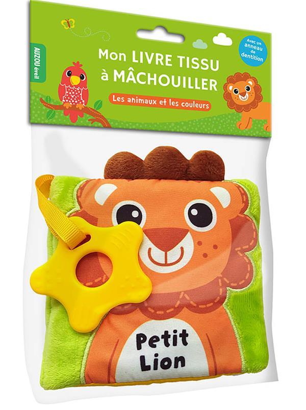 COLLECTIF - PETIT LION - MON LIVRE TISSU A MACHOUILLER