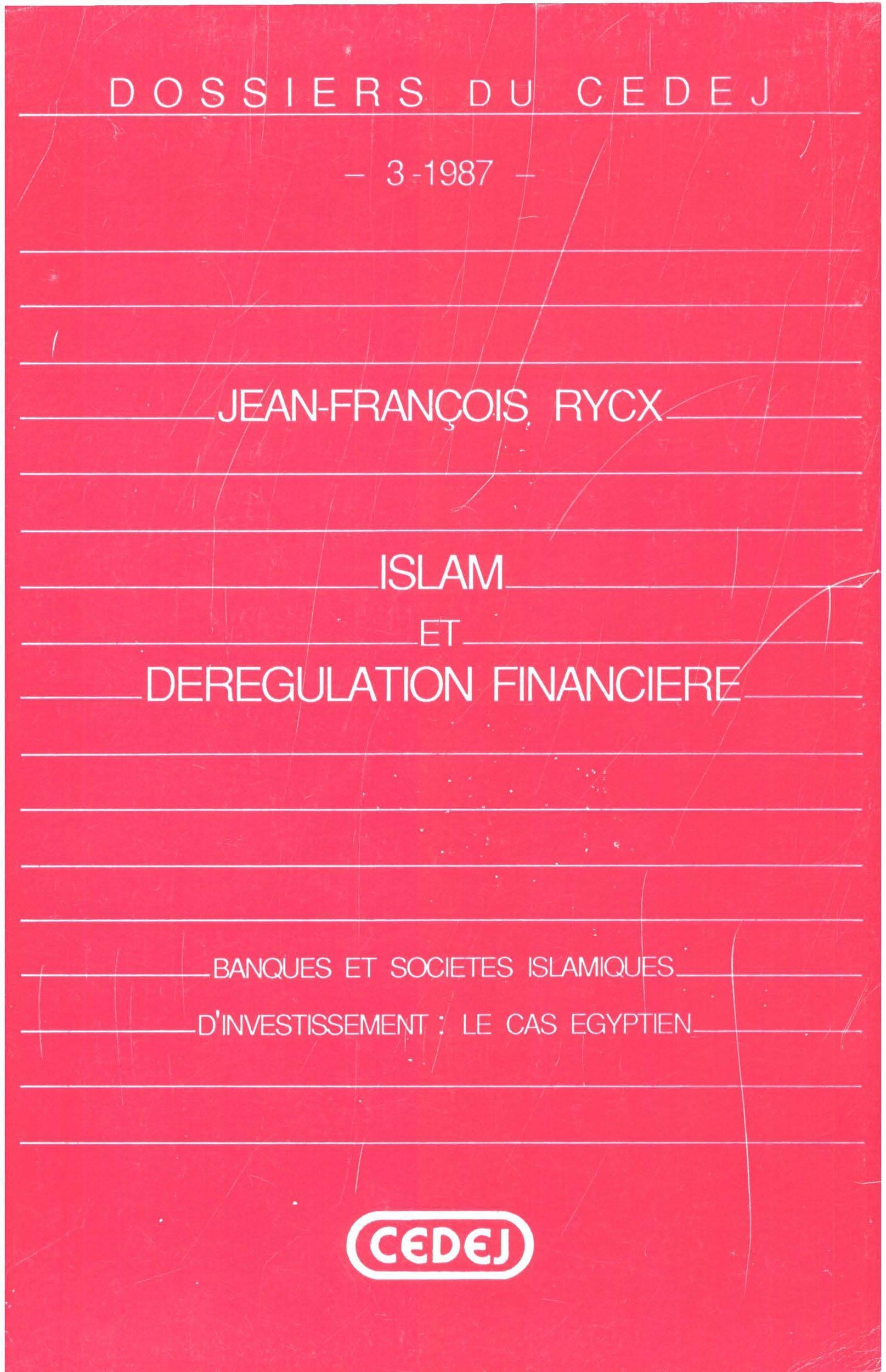 Islam et dérégulation financière