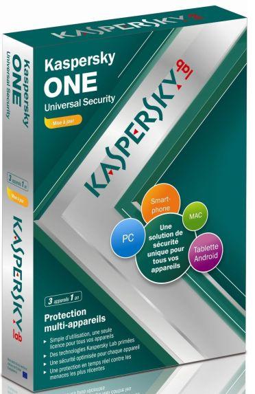 Kaspersky one universal security - édition mise à jour