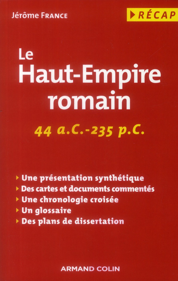 le Haut-Empire romain