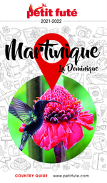 GUIDE PETIT FUTE ; COUNTRY GUIDE ; Martinique (édition 2021)  - Dominique Auzias - Jean-Paul Labourdette - Collectif Petit Fute