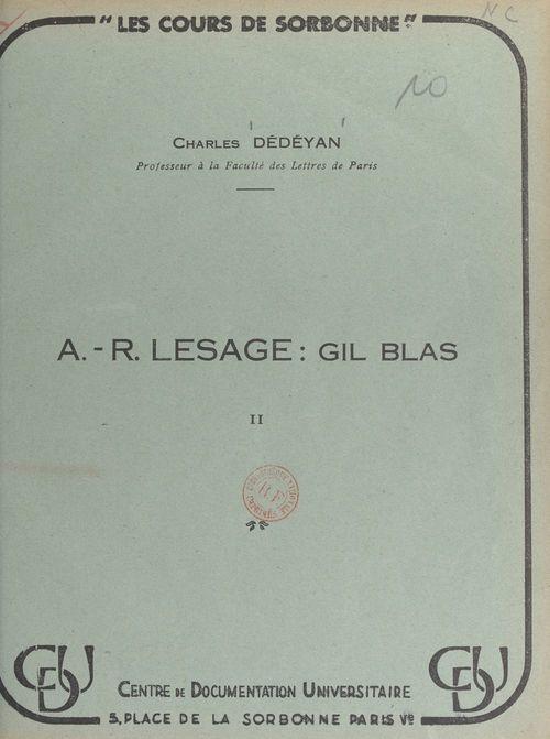 A.-R. Lesage : Gil Blas (2)
