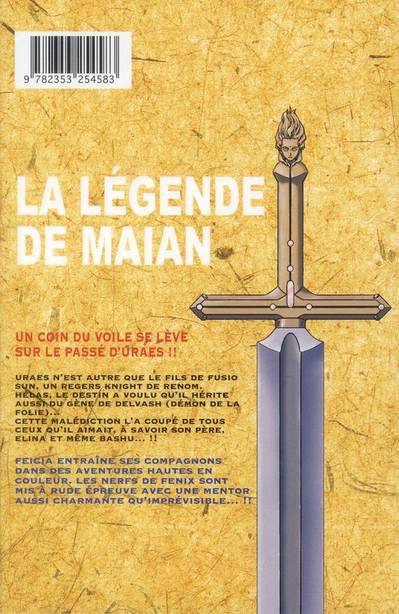 la légende de Maian t.8