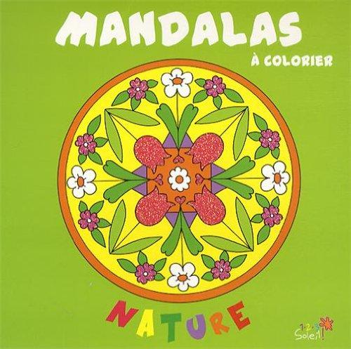 Mandalas à colorier ; nature